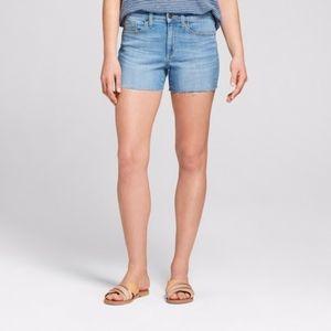 NWT Universal Thread High rise midi shorts size 14